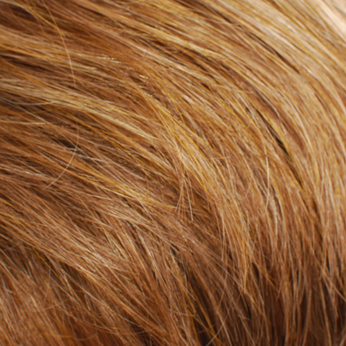 12S28 - Light Gold Brown and Strawberry Blonde Blend, Lighter Front and Top with Darker Back