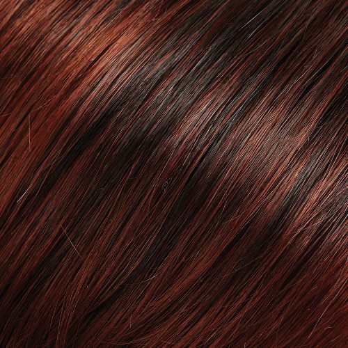 130/4 - Dark Brown, Dark Red and Medium Red Blend with Medium Red Tips