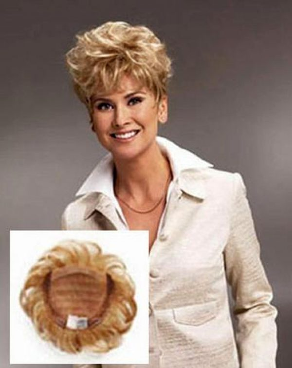 Lyric Topper Hairpiece Monofilament Top by Raquel Welch