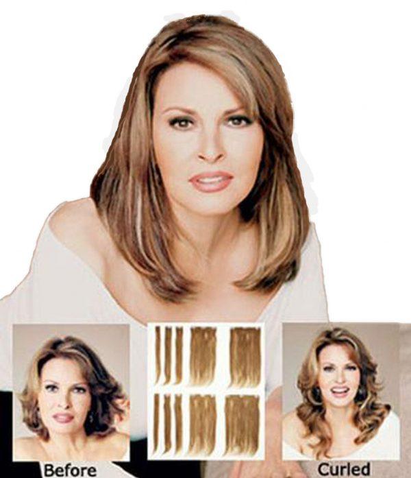 Human Hair Extensions 10 piece set