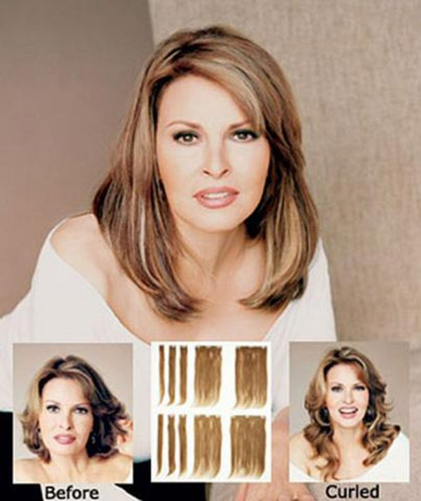 Human Hair Extension Set by Raquel Welch