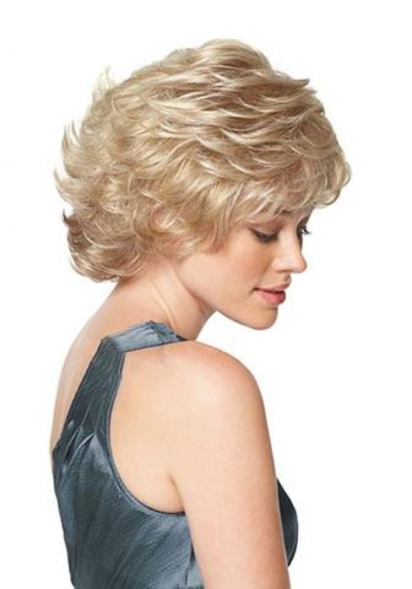 Affluence Wig by Gabor Handtied Top Scalloped Hairline -sideR