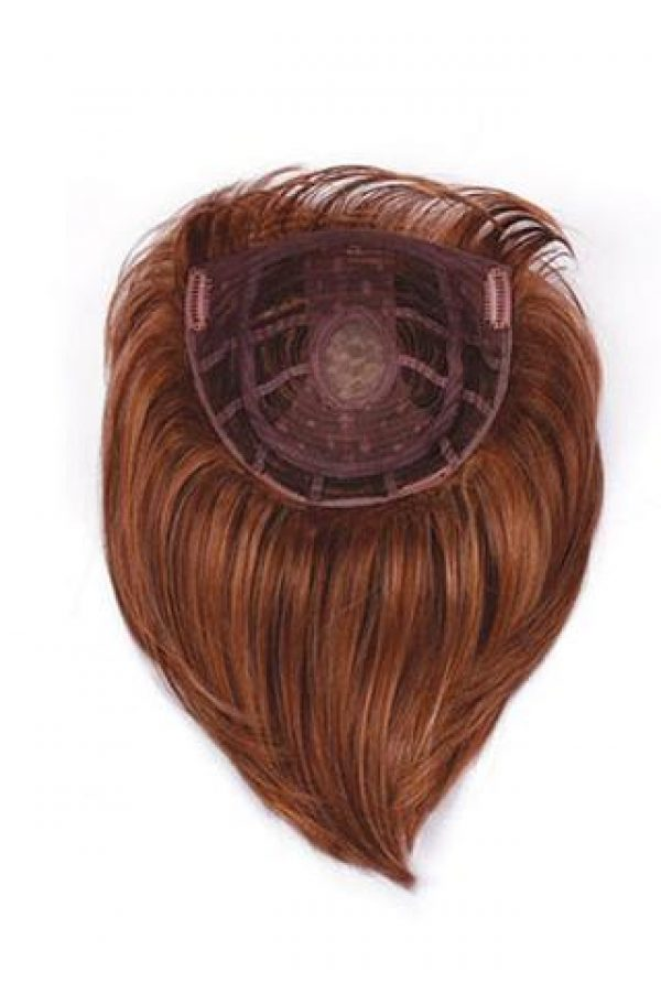 Faux Fringe Topper Hairpiece by Raquel Welch -back
