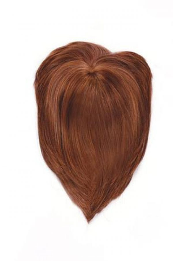 Faux Fringe Topper Hairpiece by Raquel Welch -top