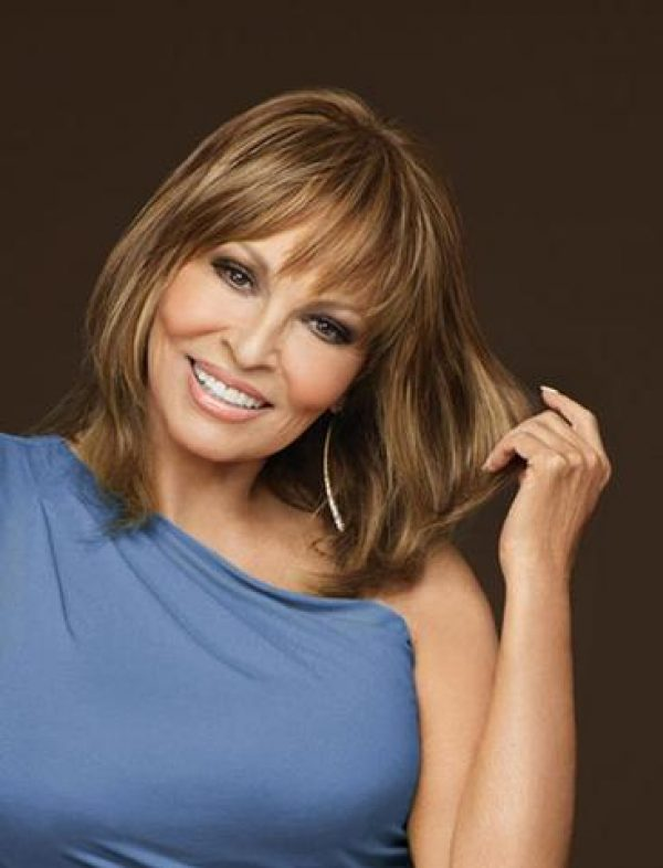 Faux Fringe Topper Hairpiece by Raquel Welch
