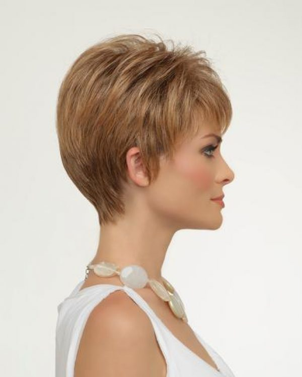 Tiffany Petite Size Cap by Envy Wigs Monofilament Top -sideR