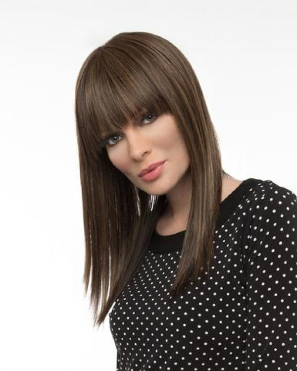 Human Hair Blend Taryn Envy Wigs Monofilament Top