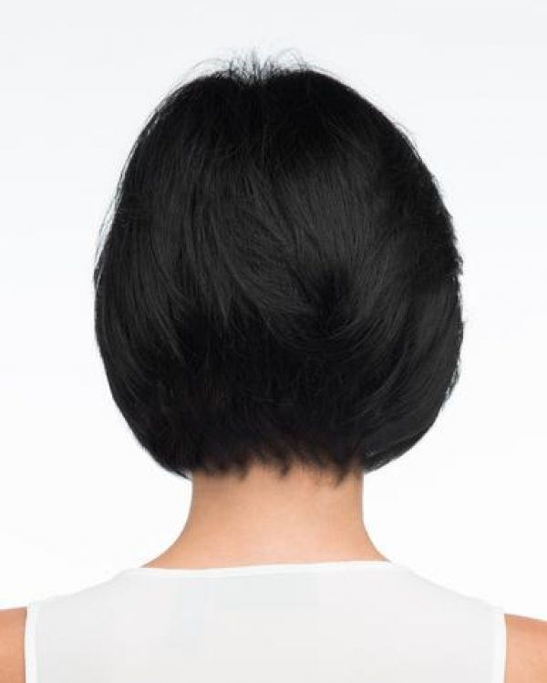 Human Hair Blend Abbey by Envy Wigs Hand-tied and MonoTop - Back