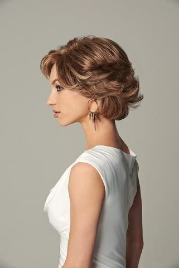 Everyday Elegant Wig by Gabor Monofilament Part Lace Front -left