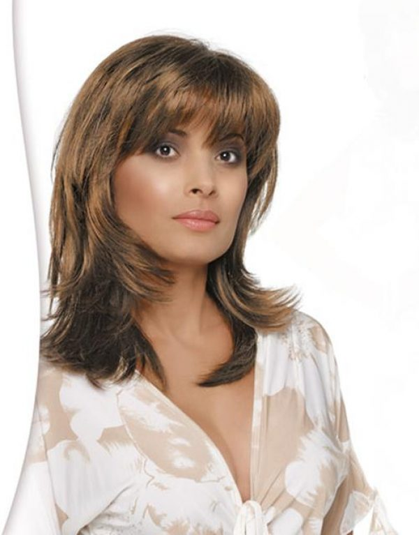 Nadia by Envy Wigs Monofilament Part