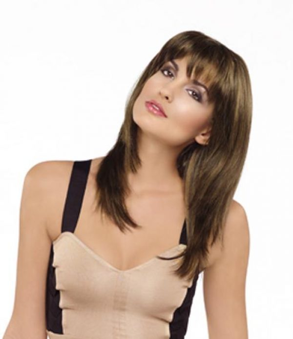 Leyla by Envy Wigs Monofilament Part Average Size