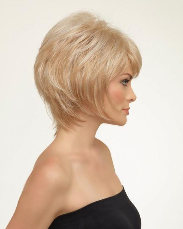 Kellie by Envy Wigs Monofilament Top -sideR