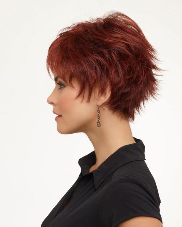 Genny by Envy Wigs Monofilament Top -sideL