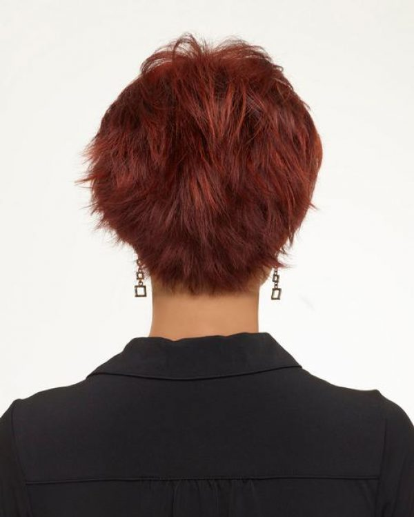 Genny by Envy Wigs Monofilament Top -back