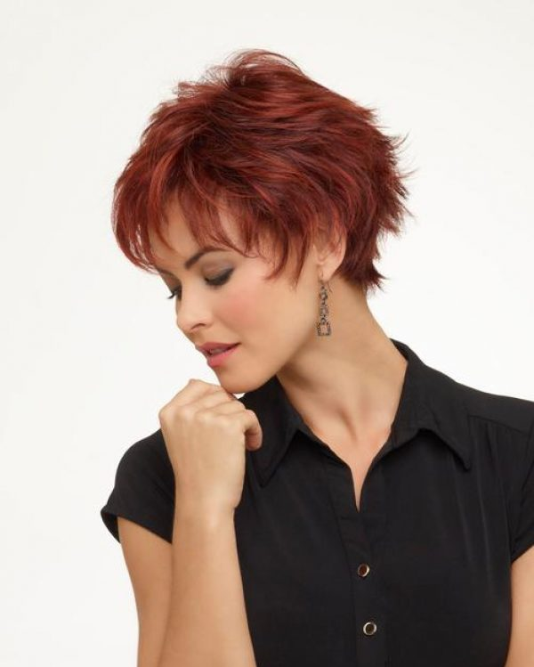 Genny by Envy Wigs Monofilament Top -side