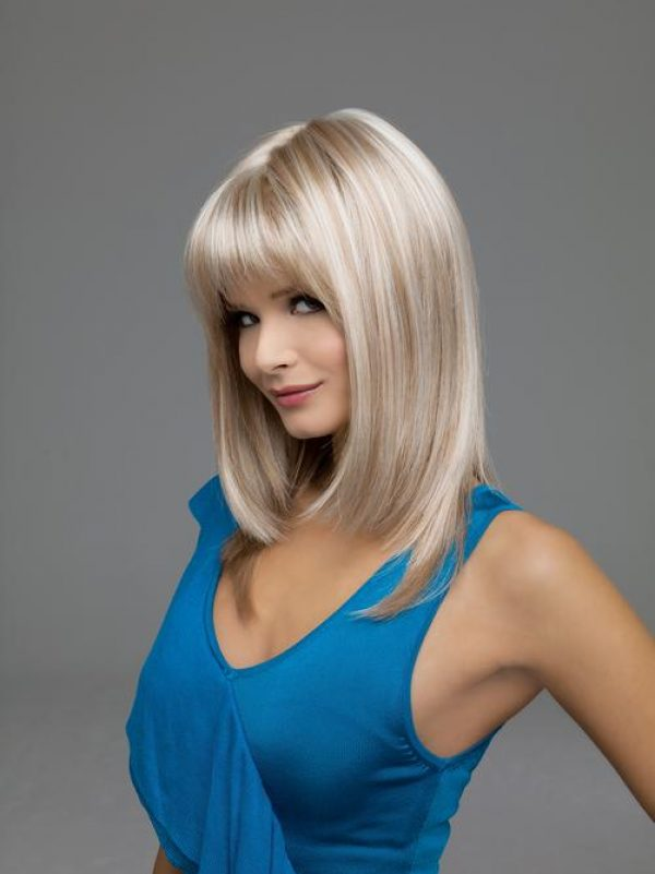 Madison by Envy Wigs Monofilament Top -sideL