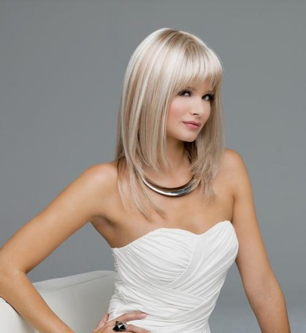 Madison by Envy Wigs Monofilament Top -side