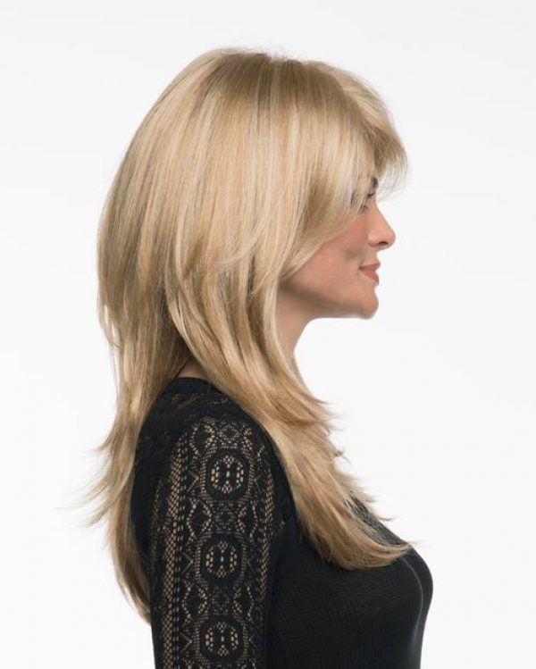 Brooke by Envy Wigs Lace Front Monofilament Top - right side