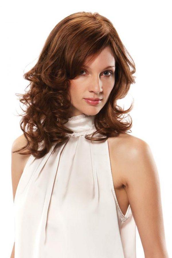 Human Hair Isabella Wig by Jon Renau Mono Top Handtied