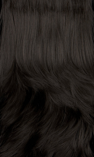 1BH - Off black with medium dark brown highlights