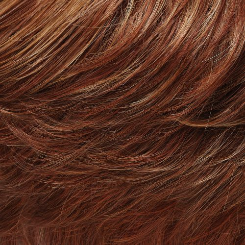 27MBF - Dark Red-Golden Blonde with Medium Red Nape