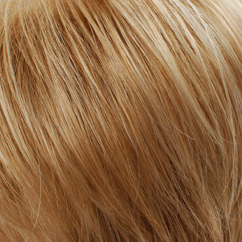 27S26 - Strawberry Red and Golden Blonde Blend, Lighter Front and Top with Darker Back