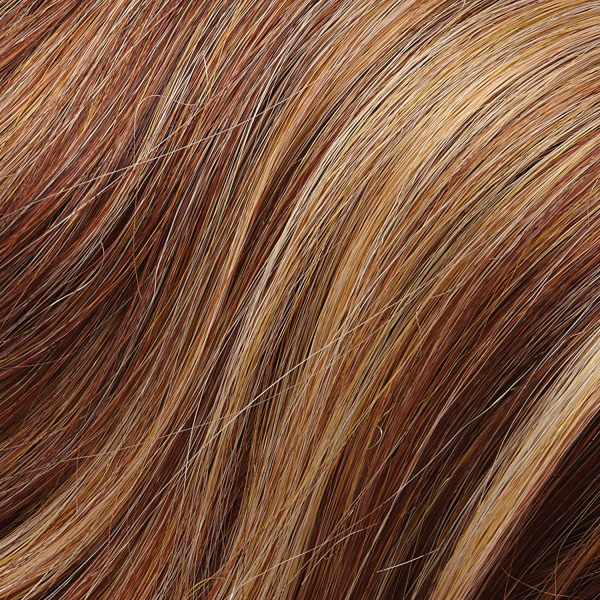 31F - Medium Red and Red-Golden Blonde Blend with Medium Red Nape