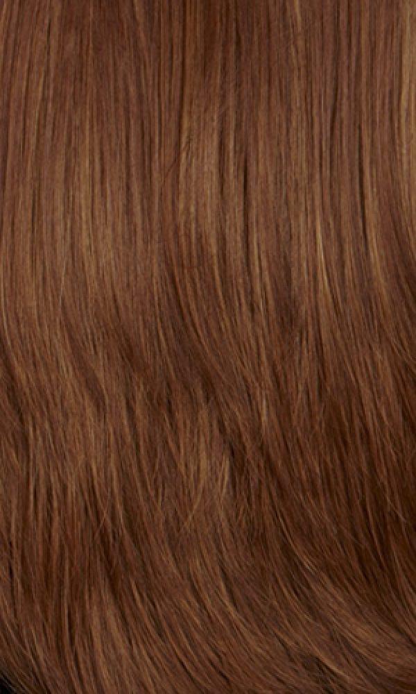 33/27R - Dark Strawberry Blonde with Dark Auburn Roots