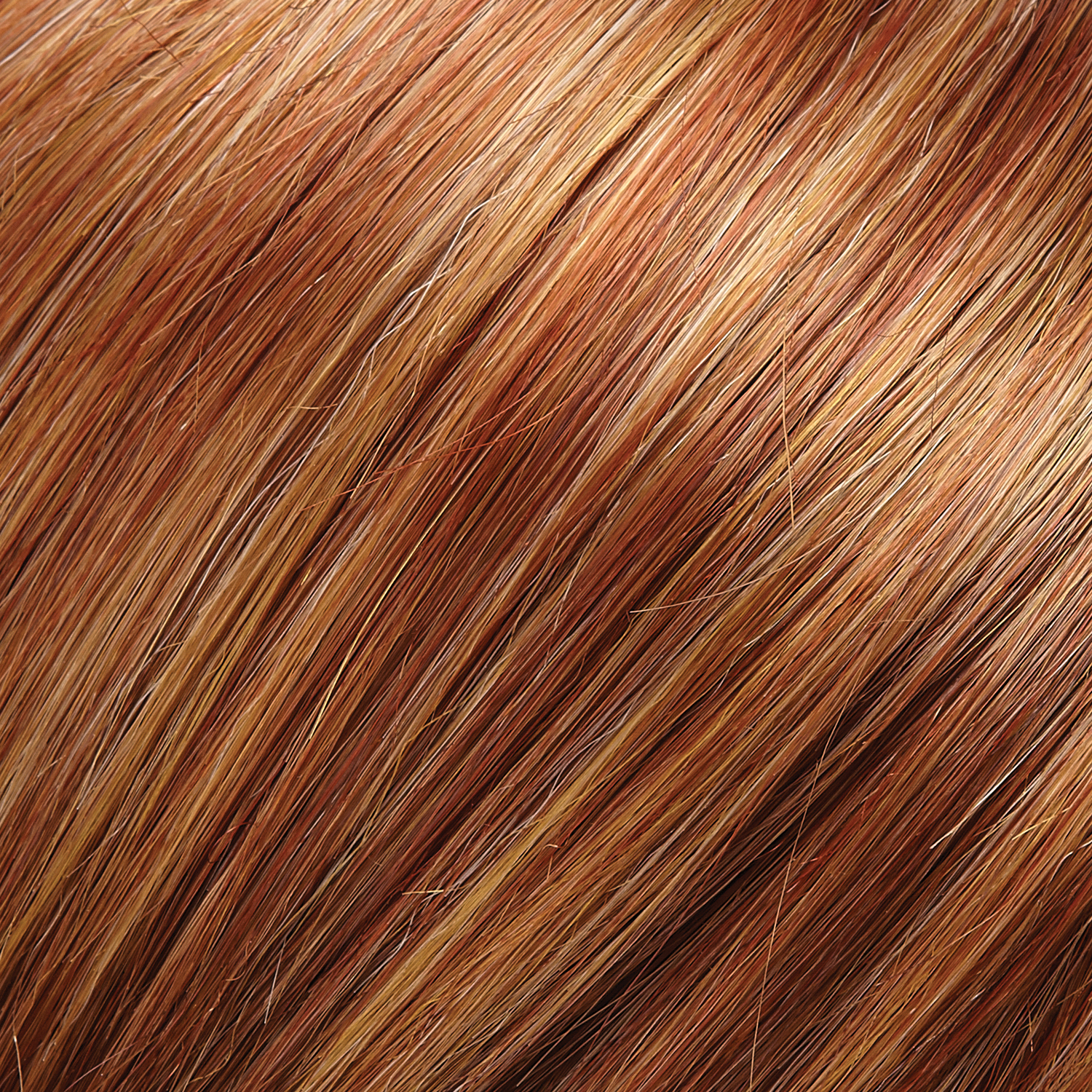 33RH27 - Medium Natural Red with 33% Medium Red-Golden Blonde Highlights