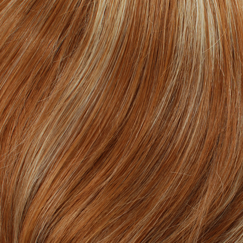 613HL27 - Lightest Red with 15% Vanilla Blonde Highlights