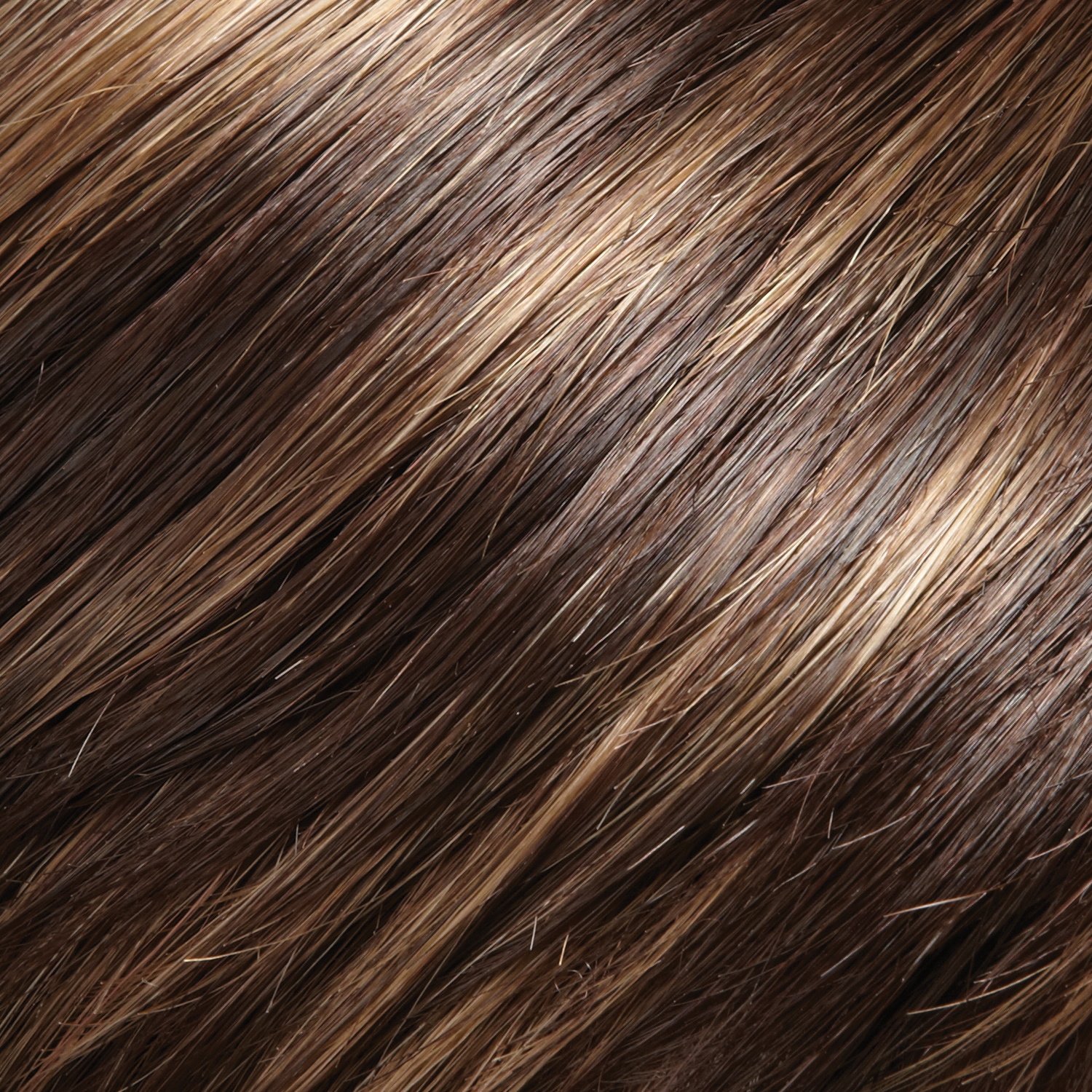 6RH12 - Brown with 33% Light Golden Brown Highlights