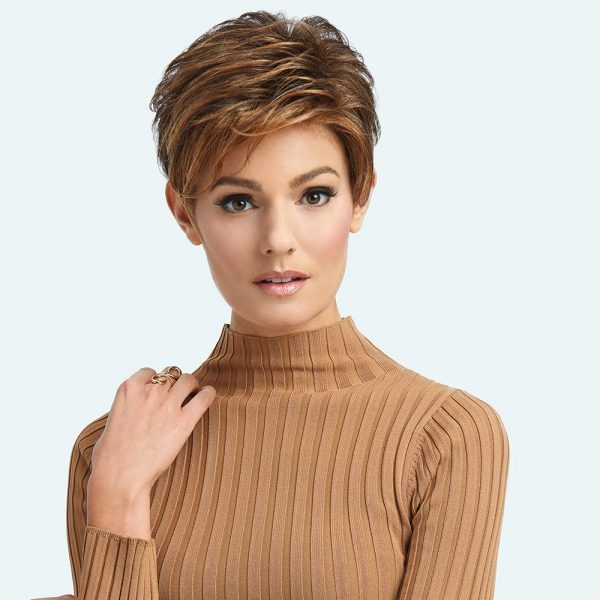 Advanced French Raquel Welch Wig -front