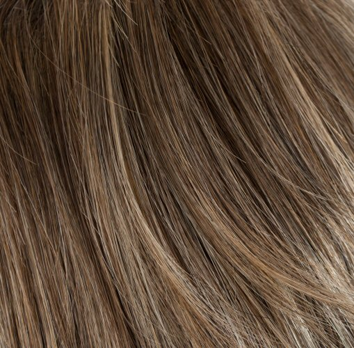 ALMONDINE - Brown with Coconut Cream Highlights