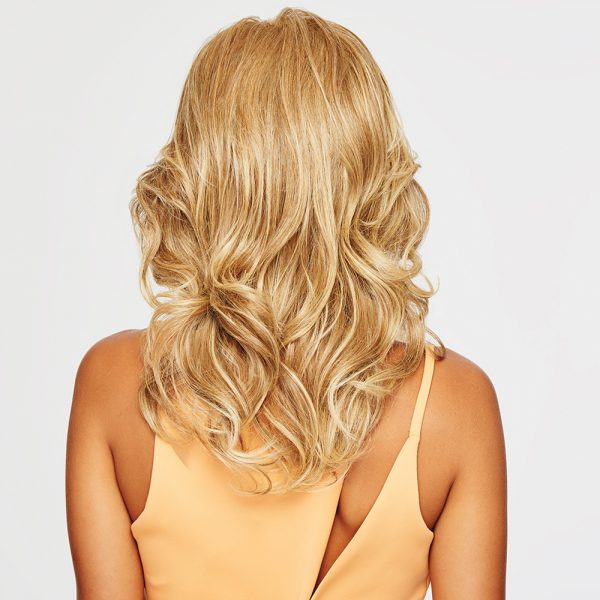 Curl it full and fabulous or iron it stick-straight. This silhouette of long, luxurious layers will always look great! Tru2Life® synthetic hair makes your styling options limitless! Always Wig Synthetic Heat Friendly Fiber Raquel Welch Wigs HairUWear -back