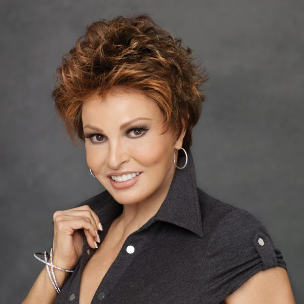 Autograph Wig Raquel Welch -side