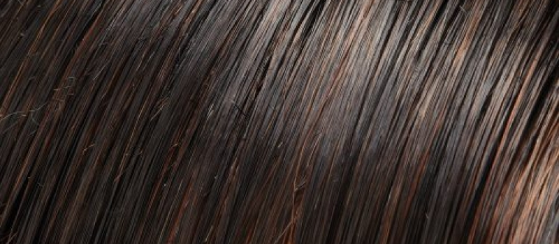 1BRH30 - Soft Black with 33% Golden-Red Highlights