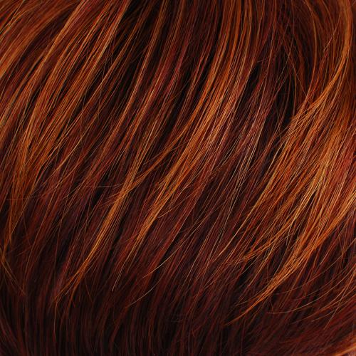 CHERRY PUNCH - Dark Auburn with Light Red Highlights & Burgundy Ends