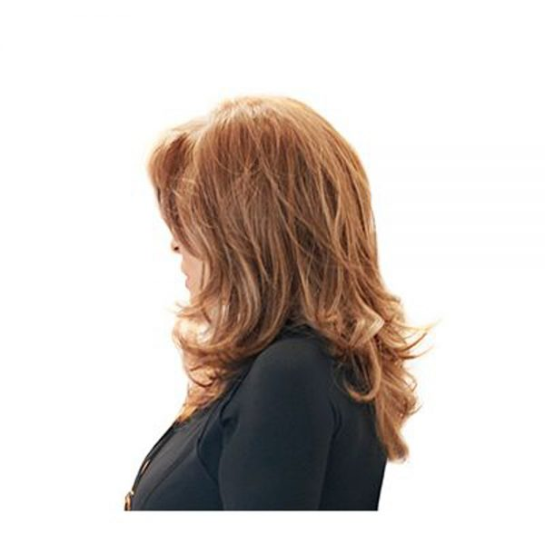 Curve Appeal Wig Raquel Welch Lace Front Monofilament Part-side