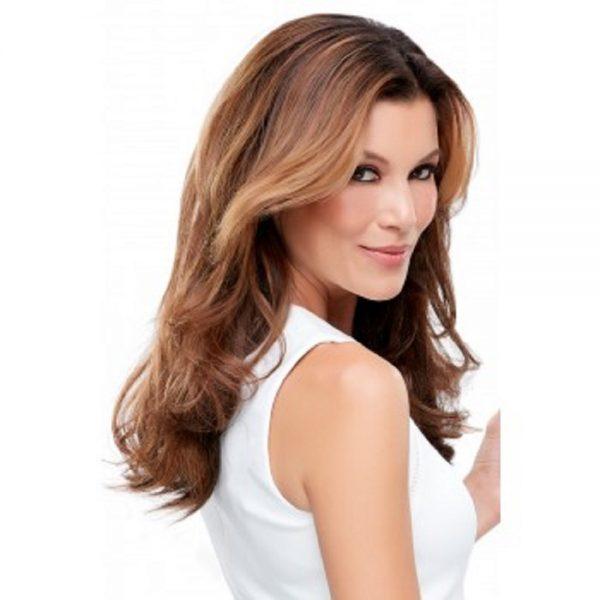 Human Hair EasiCrown 18 Topper - EasiHair Mono -side