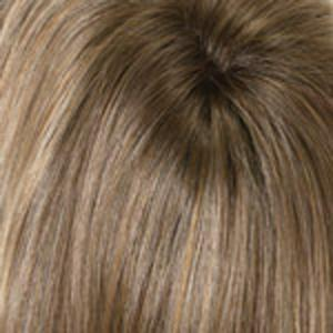 TOASTED SESAME - Light Brown and Wheat Blonde with Medium Brown Roots