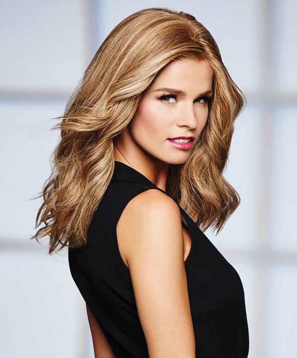 Human Hair High Profile Wig Raquel Welch Lace Front MonoTop -styled