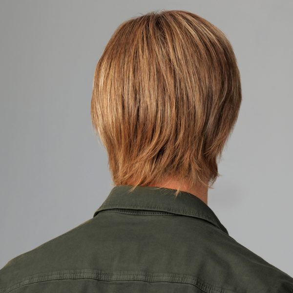 Chiseled Men's Wig All Handtied Lace Front Mono Top - back