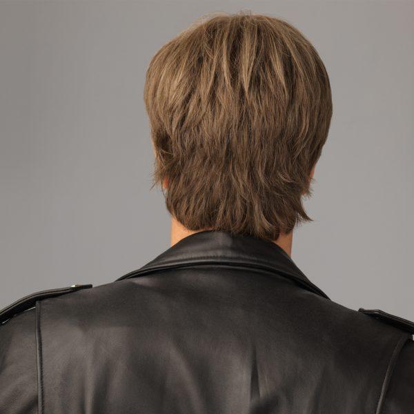 Edge Men's Wig Lace Front Monofilament Crown back