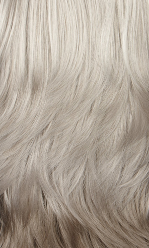 60H = Silver White on top mixed with 25% Light Brown in back