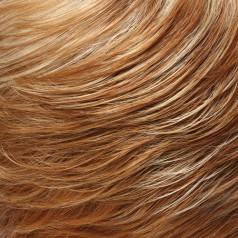 27F613 - Medium Red=Golden Blonde & Pale Natural Golden Blonde Blend with Medium Gold Blonde Nape