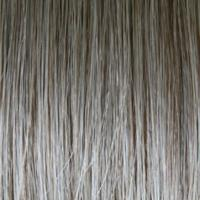 54F48 - Light Grey with 25% Medium Natural Golden Blonde Front, Graduating to Light Brown with 75% Grey Nape