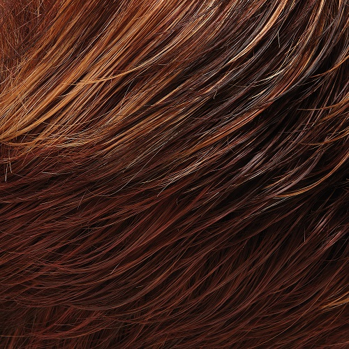 32F - Medium Red and Medium Red-Gold Blonde Blend with Medium Red Nape