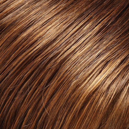 6/27TT - Brown and Light Red-Golden Blonde Blend with Brown Nape