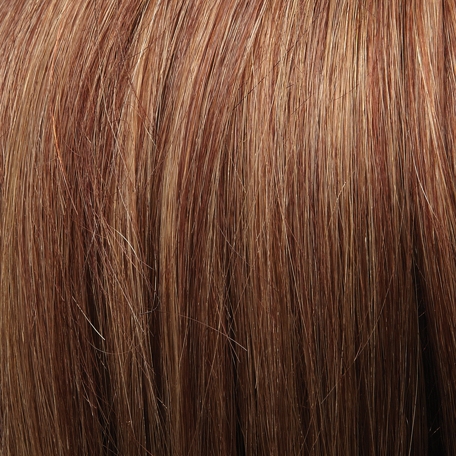 31/26 - Medium Natural Red Brown & Red-Gold Blonde Blend