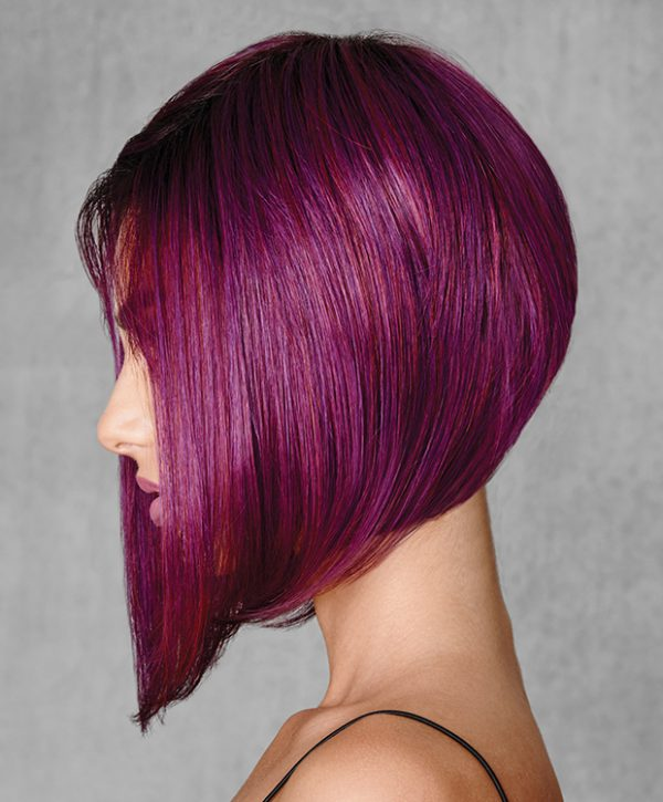 Midnight Berry Wig by Hairdo Heat Friendly HairUWear - left